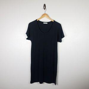 Rag & Bone Womens T Shirt Dress Size M Black